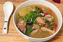 养生菌菇山药鸡汤的做法