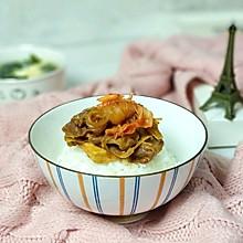 #快手又营养,我家的冬日必备菜品#泡菜魔芋肥牛饭