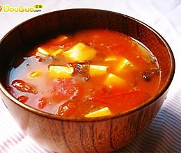 西红柿豆腐汤的做法