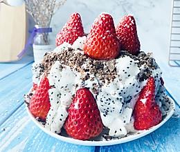 草莓蛋糕、裸蛋糕,新年菜谱的做法