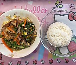 韩国杂菜的做法