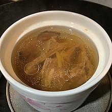 扇骨花旗参炖汤