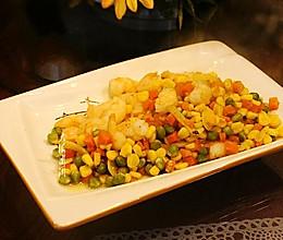 #全电厨王料理挑战赛热力开战!#虾仁炒玉米粒的做法