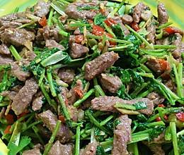 香菜牛肉(快手下饭菜)的做法