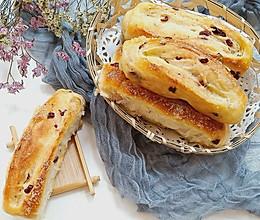 蔓越莓砂糖面包卷的做法