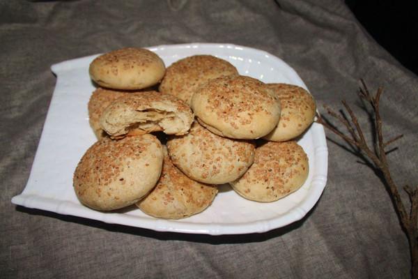酥的掉渣的椒盐烧饼的做法