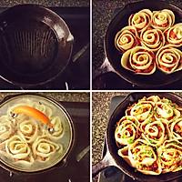 好看又好吃的《花式玫瑰煎饺》,据说这才是饺子的正确打开方式的做法图解9