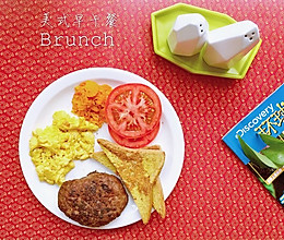 美式早午餐全餐(Brunch)的做法
