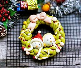 圣诞雪人卡通馒头系列(五)的做法