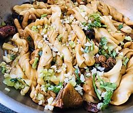 土鸡蘑菇蒸卷子的做法
