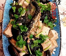 香菇豆腐炖鱼块的做法