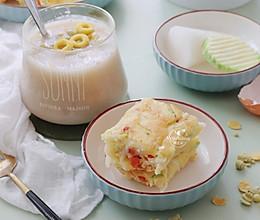 【萝卜酸奶煎饼】好吃又好做的营养早餐的做法