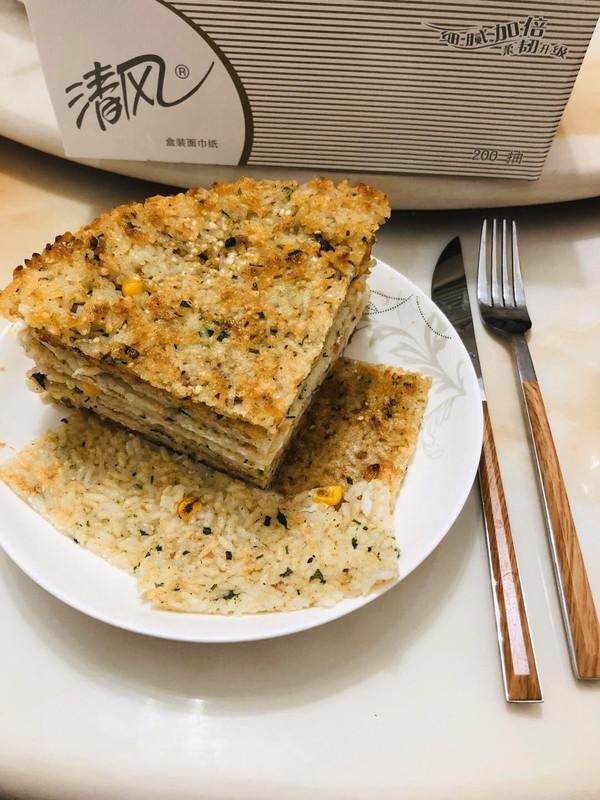 米饭自制锅巴,香脆多味的做法