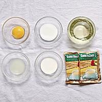 ㊙️无需烤箱❗️一次成功的燕麦雪饼❗会爆浆哦的做法图解1