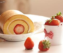 草莓小山卷的做法
