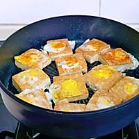 #憋在家里吃什么#茄汁鹌鹑蛋酿豆腐的做法图解8