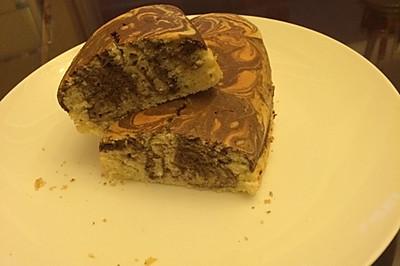 【小烤箱也有春天】详解大理石蛋糕