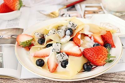 水果可丽饼 宝宝甜品