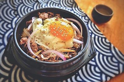 牛肉蘑菇饭#春天不减肥,夏天肉堆堆#