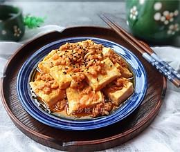 茄汁肉末豆腐的做法