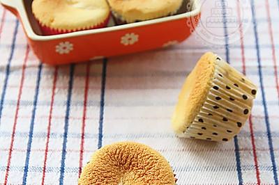 蜂蜜柚子茶纸杯蛋糕