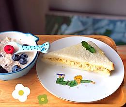 自制便利店爆款-蛋黄酱三明治的做法