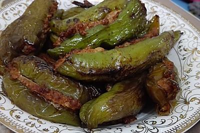 超下饭的尖椒盒/虎皮青椒酿肉