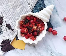 #秋天怎么吃#中餐厅3紫苏蜂蜜樱桃番茄的做法