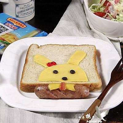 萌娃三明治 小兔乖乖