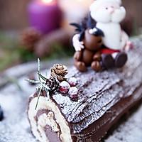 超简单圣诞树根蛋糕卷-超人气菜谱的做法图解26