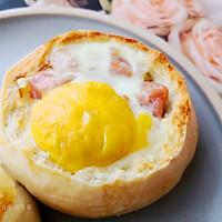 高颜值营养早餐   火腿玉米烘蛋塔 #助力高考营养餐#的做法图解7