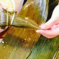 #甜粽VS咸粽,你是哪一党?大黄米粽子 (圆锥粽包法视频)的做法图解7