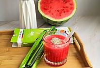 #全电厨王料理挑战赛热力开战!#多c夏日饮品西瓜汁的做法