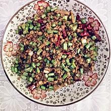 下饭菜——肉沫豆角
