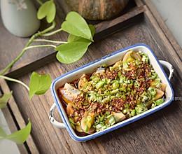 #晒出你的团圆大餐#快手宴客凉拌菜,颜值和味道担当,青椒皮蛋的做法