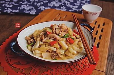 酸菜炒肚尖#钟于经典传统味#