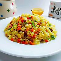 彩蔬咖喱炒饭