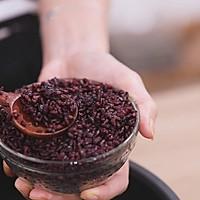 椰汁芒果黑米捞的做法图解3