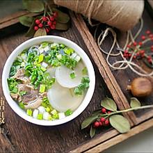 羊肉萝卜汤#2018年我学会的一道菜#