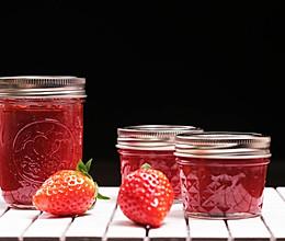 自制草莓酱 | 清新可口,甜而不腻的做法