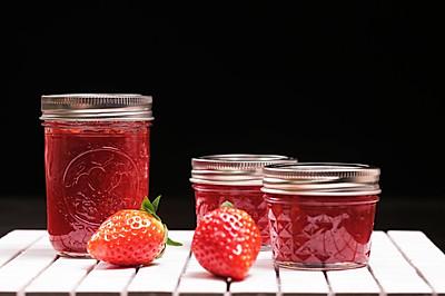 自制草莓酱   清新可口,甜而不腻