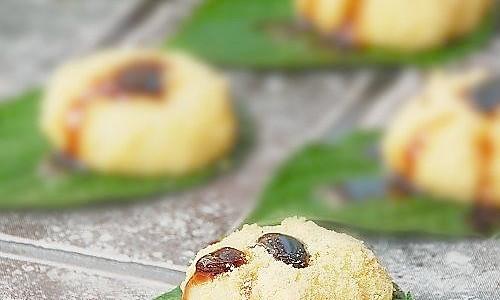 夏天小食:糯米甜糍粑的做法