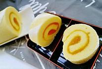 香芒果酱蛋糕卷(毛巾卷)的做法