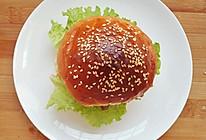 豪华早餐~猪肉汉堡包的做法