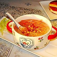 萝卜条粉丝汤#快手又营养,我家的冬日必备菜品#
