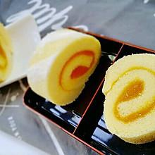 香芒果酱蛋糕卷(毛巾卷)