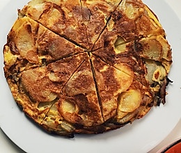 Tapas tortilla 西班牙鸡蛋土豆饼的做法