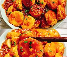 好吃到舔盘的茄汁日本豆腐的做法