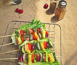 #格兰仕爵仕快波炉之卡真烤蔬菜水果的做法
