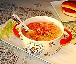 萝卜条粉丝汤#快手又营养,我家的冬日必备菜品#的做法